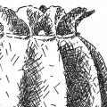 Moonkapsel, Tusche auf Papier - 1994-2002