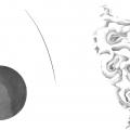 OHNE TITEL, BLEISTIFT UND GOUACHE AUF PAPIER, 46 X 67 CM, 2019
